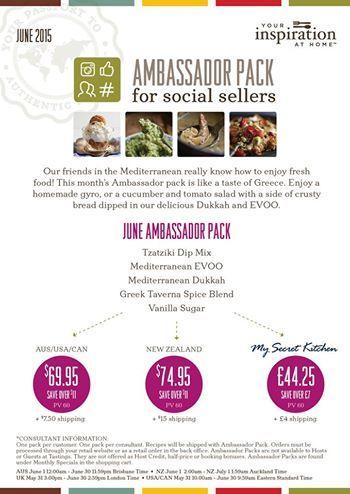 June Ambassador Pack