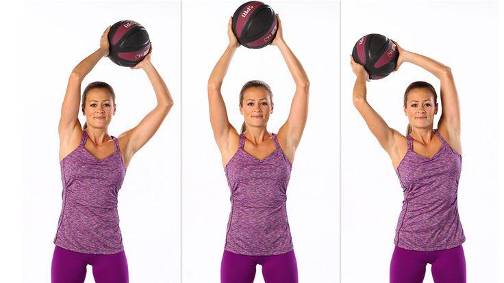Добавьте дополнительные упражнения к вашей тренировке, чтобы стать сильнее! Наша задача улучшить тонус и увеличить выносливость во всем теле, так же наши 7 упражнений с мячом, помогут вам стать стройнее.