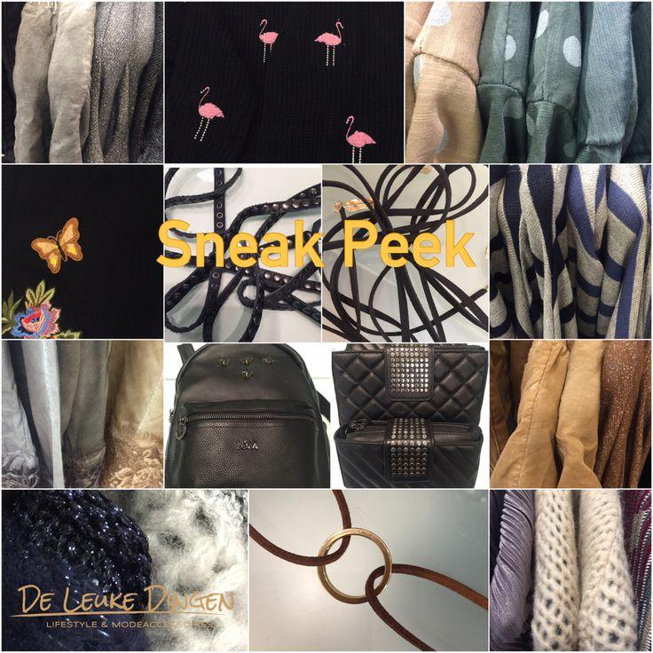 Wij hebben er weer zin in! Jullie ook? #vesten #shirts #riempjes #tasjes #jurkjes #truien #borduursels #kant #metallic #shokers #shawls en nog veel meer leukedingen @deleukedingen