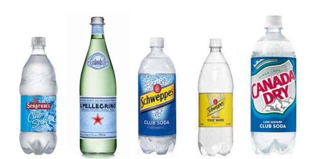 The Difference Between Club Soda, Seltzer And Tonic Water