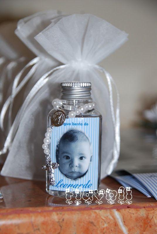 Garrafinha de água benta com foto  :: flavoli.net - Papelaria Personalizada :: Contato: (21) 98-836-0113 – Também no WhatsApp! vendas@flavoli.net