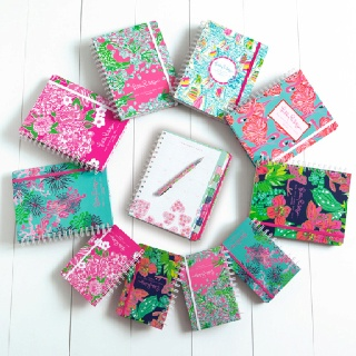 Agendas! Agendas! Agendas! Lily Pulitzer agendas are my fave! I have the 11 o'clock position agenda and love it!