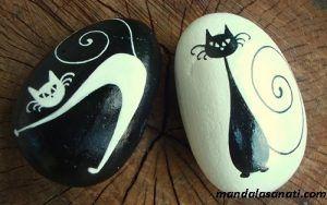 taşa kedi çizmek istiyorum