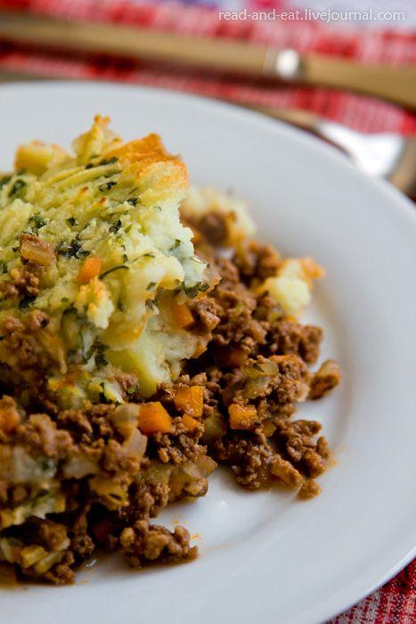 Еда в литературе - Возвращение в Хогвартс: пастуший пирог и пирог с патокой
