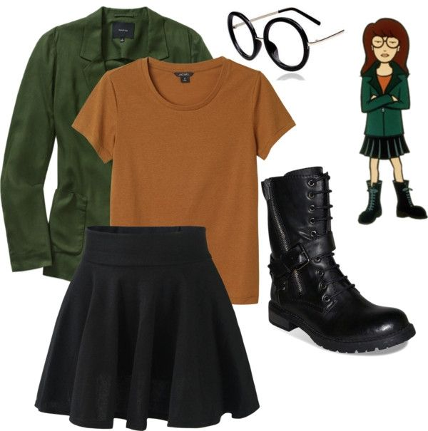 daria morgendorffer costume - Google Search