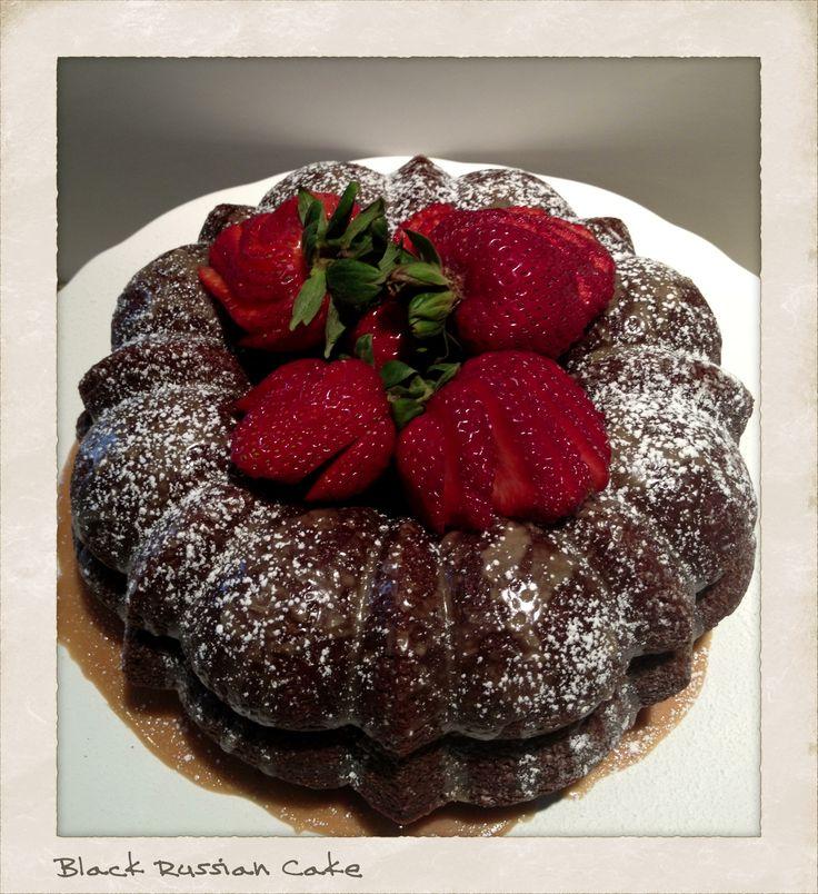 Black Russian Cake - my favorite cake!