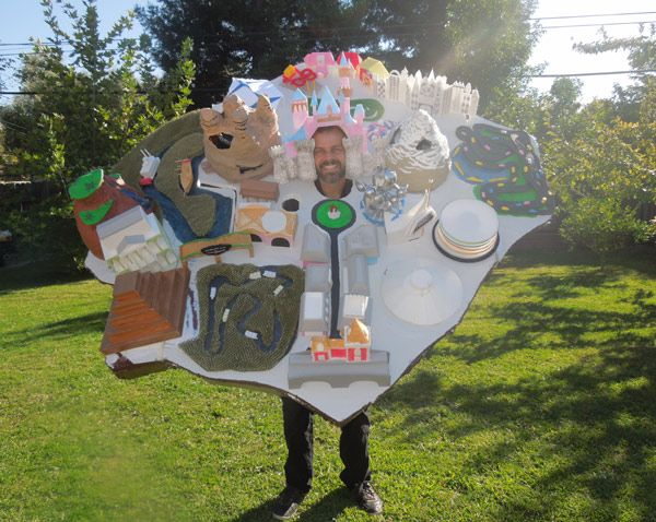 Halloween costume: Disneyland