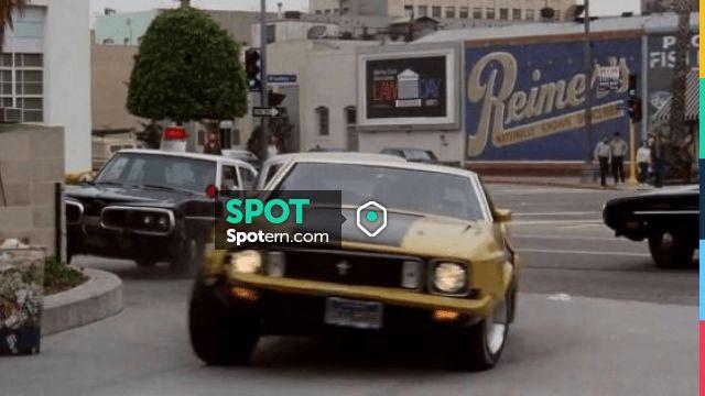 The Mustang Mach 1 of Toby Halicki dans Gone in 60 Seconds #Cars #FastCars #Movie #Spotern #MovieScene #Ford #Pontiac #Chevrolet #Mustang #Ferrari #Audi #Lamborghini #Falcon #Volkswagen #Dodge #Porsche #Delorean #ActionMovie