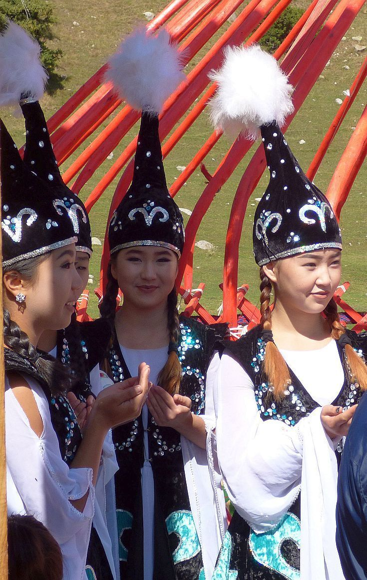 kyrgyzstan jyrgalan festival dancers. Going off the grid in the mountainous country of Kyrgyzstan means saying goodbye to creature comforts, connectivity, and humans to find unspoiled nature in its primal form.