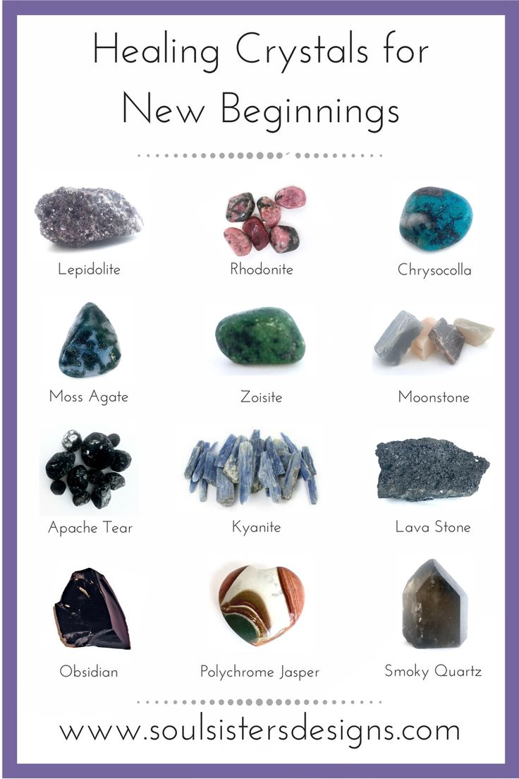 With the new year right around the corner, here is a list of healing crystals to help guide and transform your New Beginnings! By Soul Sisters Designs