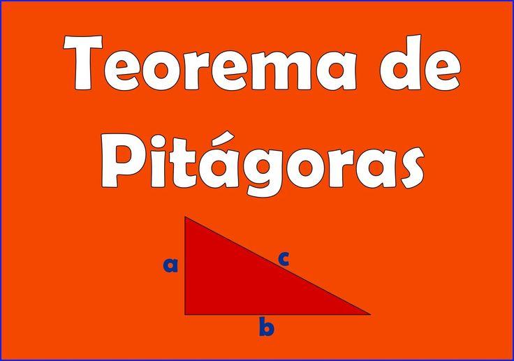 Teorema de Pitagoras con ejemplos