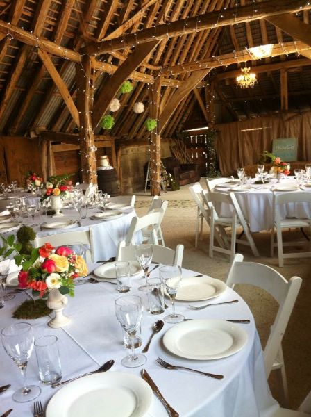 Rustic Barn Kent With Outdoor Ceremony
