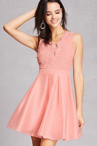 Soieblu Satin Mini Dress
