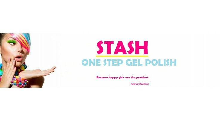 Ons eigen merk gellak: STASH, one step gellak, heel makkelijk!