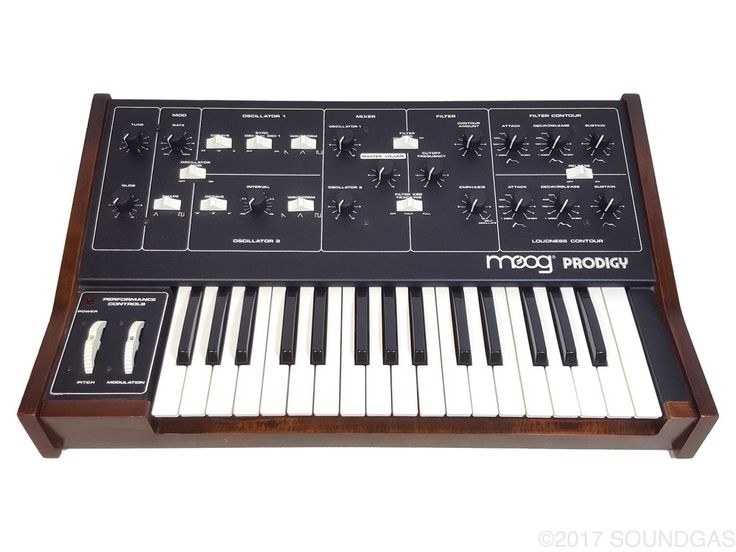 Moog Prodigy 3368X - sought after model of this analogue synth with CV/Gate