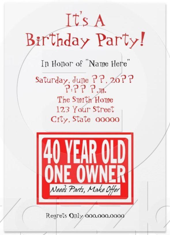 Funny Birthday Invites Best Funny Birthday Invites 27 With Additional Free Print Funny Birthday Invitations Funny Invitations Birthday Party Invitation Wording