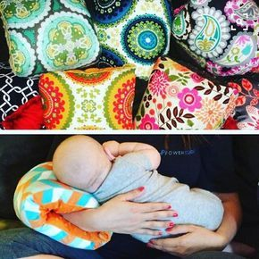 Bom dia com essa ideia super diferente! Nunca tinha visto essa almofada de amamentar! Gostei por ser pequena e poder levar para os lugares, mas achei que deve esquentar super o braço! O que acaharam? #gravidez #gestacao #lactacao #amamentacao #amamentar