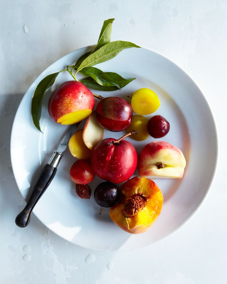 Nectarines and plums (via Hungry Ghost Food + Travel blog).