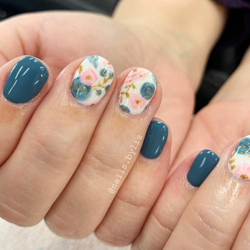 Spring Fever Nails – 50 Super Cute Spring Nails – FavNailArt.com