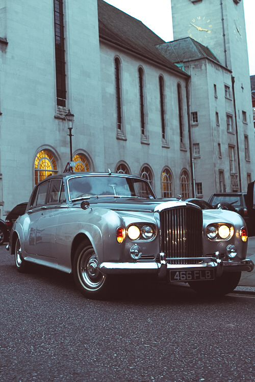 Vintage Luxury - what about this for your wedding car? Arrive in style!