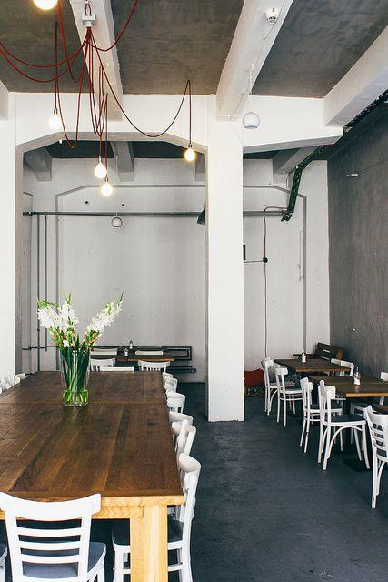 bal krakw poland cafe interior - Beaded Inset Restaurant Interior