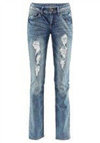 274931cb1df8 à la mode Jeans Jupe n Rouleau de Laura Scott en bleu usé - Bleu Used