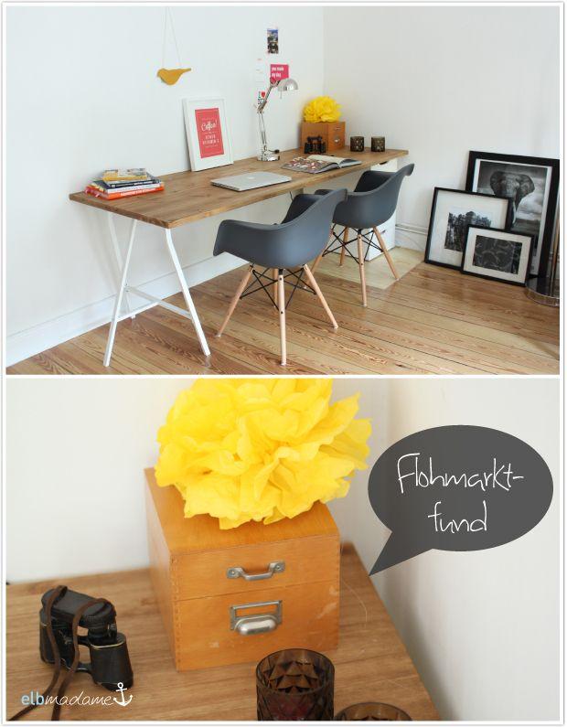 DIY Schreibtisch, Günstig U0026 Schnell Den Schreibtisch Selber Bauen
