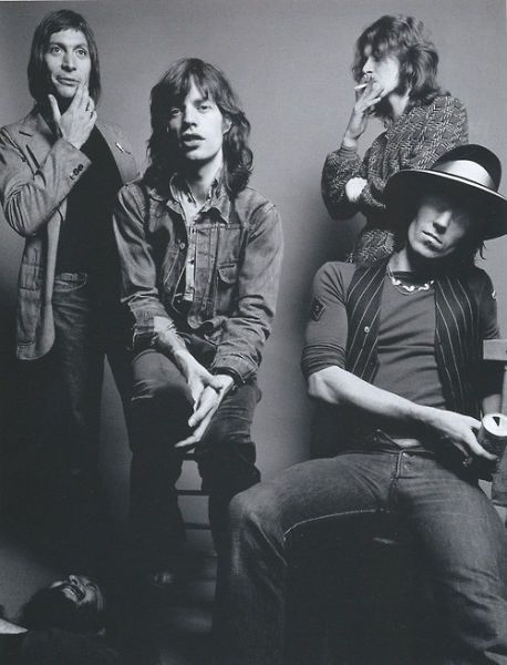 "The Rolling Stones: ""Waiting for a girl and she gets me into fights. Waiting for a girl, we get drunk on Friday nights. She's a sight for sore eyes.  Waiting for a factory girl."" ~ ♪"
