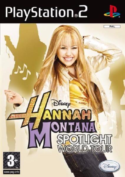 juego ps2 hannah montana unete a su gira mundial