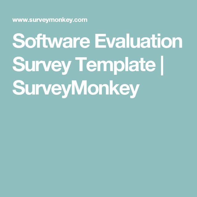 The 25+ best Survey template ideas on Pinterest Student survey - survey question template