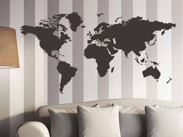 Streifen an die Wand malen - Ideen für gestreifte Wände ...