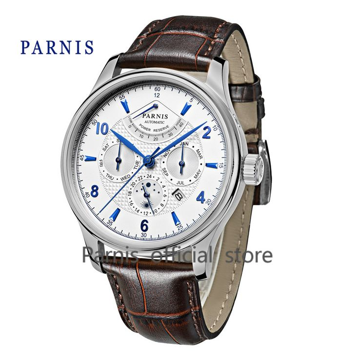 Luxury Brand Men's Watch Automatic Parnis 42mm Date/24 hour/Power Reserve/Moon Phase Auto Mechanical Watches Wrist Watch Relojio     Tag a friend who would love this!     FREE Shipping Worldwide     Get it here ---> https://shoppingafter.com/products/luxury-brand-mens-watch-automatic-parnis-42mm-date24-hourpower-reservemoon-phase-auto-mechanical-watches-wrist-watch-relojio/