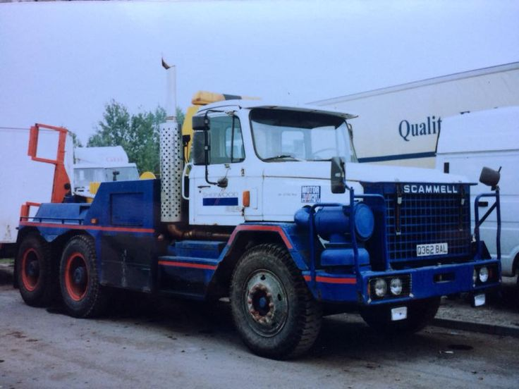 SCAMMELL - RECOVERY TRUCK