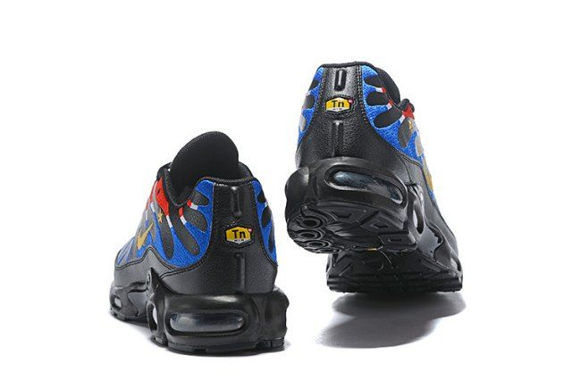 Nike Air Max Plus Tn France Kylian Mbappe Cup Black Blue Red