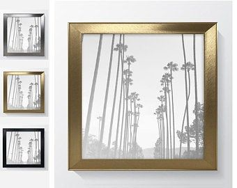 16x16 14x14 12x12 Etsy Mirrored Picture Frames Frame Photo Frame