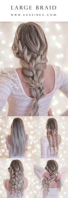 Large Braid - Kassinka Hair