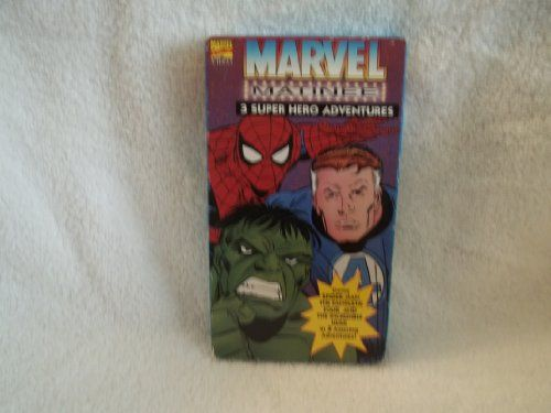 Marvel Matinee Vol.2 Featuring Spiderman The Fantastic Four and The Incredible Hulk [VHS] @ niftywarehouse.com #NiftyWarehouse #Spiderman #Marvel #ComicBooks #TheAvengers #Avengers #Comics