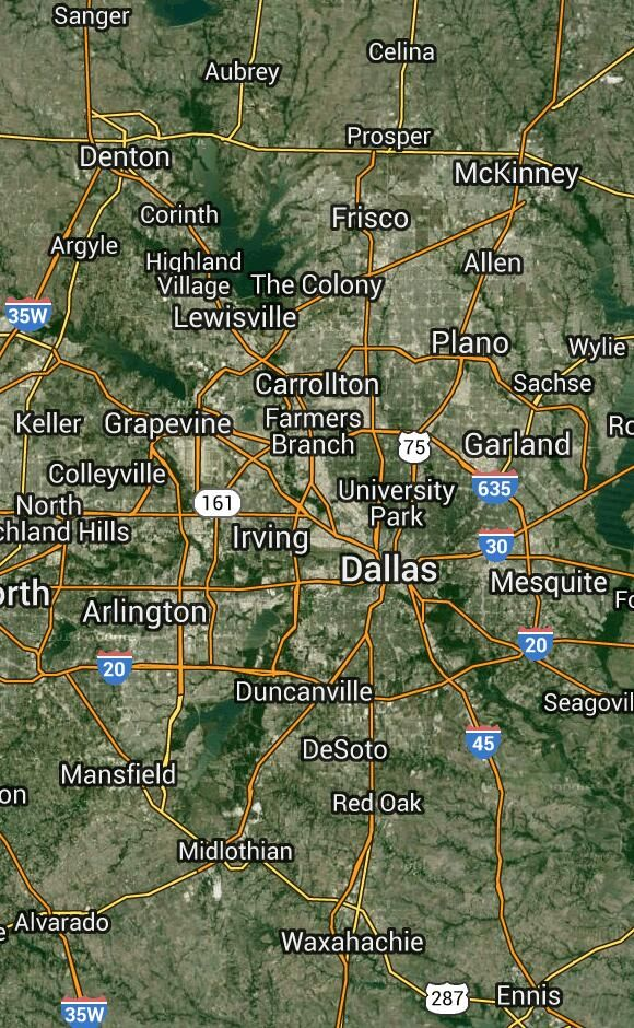 Kentucky Earthquake Map%0A Earthquakes in Dallas  Texas  United States  Most Recent