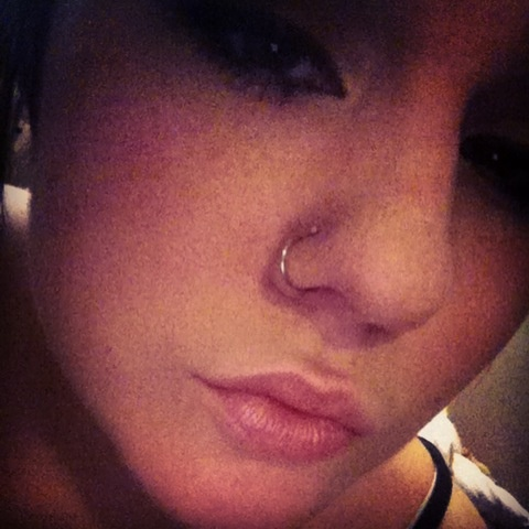 double nose rings.