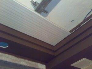 Делаем подвесной потолок из реек
