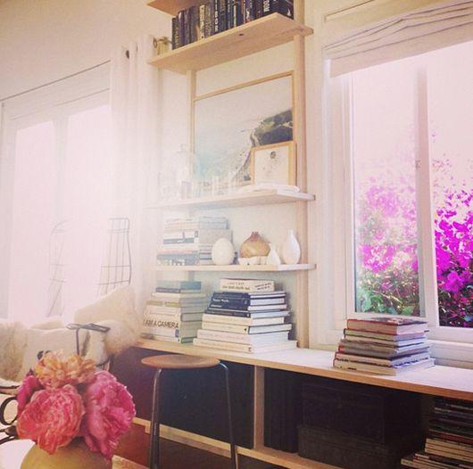 another view of sfgirlbybay's custom shelves
