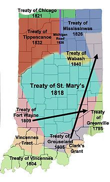 U.S. government did not trust the neutrality of the Miamis & US forces attacked Kekionga during the Northwest Indian War. Each attack was repulsed. St. Clair's Defeat was the worst defeat of an American army by Native Americans in U.S. history. This ended with the Battle of Fallen Timbers and Treaty of Greenville. Those Miami who still resented the United States gathered around Ouiatenon and Prophetstown, where Shawnee Chief Tecumseh led a coalition of Native American nations.