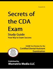 CDA - Certified Dental Assistant Exam Study Guide