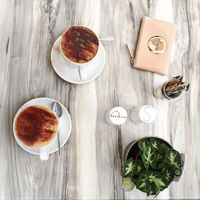 ✨ Pretti terrific coffee date w/ Lil ☕️☕️ as per usual //cheiannajade on instagram