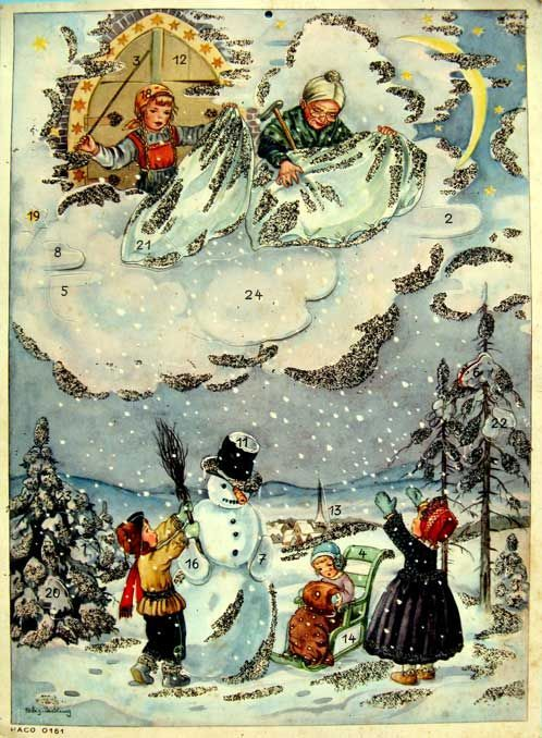 A Polar Bear's Tale: Mother Hulda - Frau Holle Advent calendar