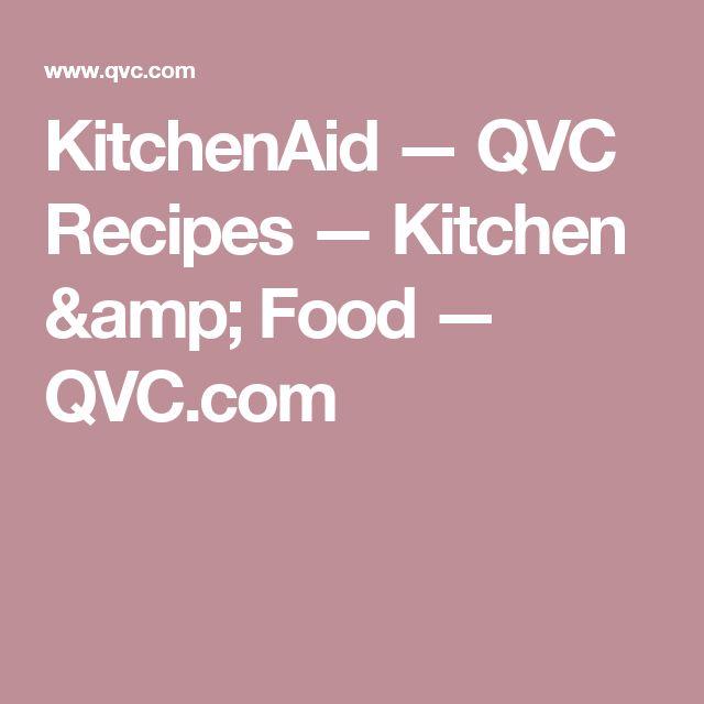 Die besten 25+ Qvc kitchenaid Ideen auf Pinterest KitchenAid