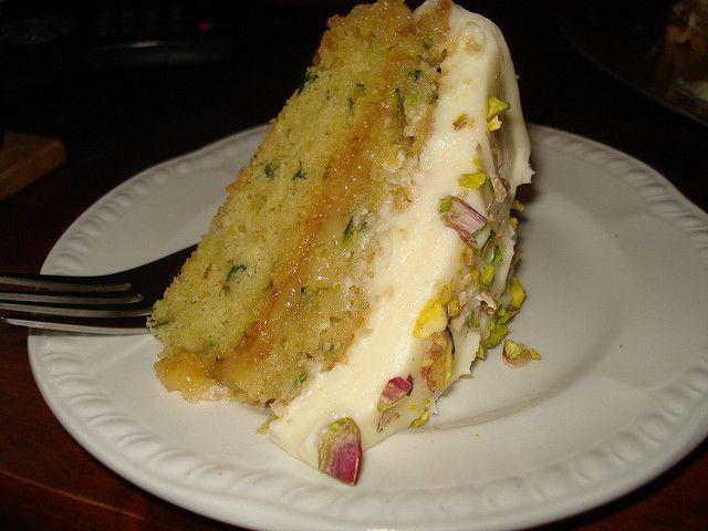 Nigella's Courgette Cake