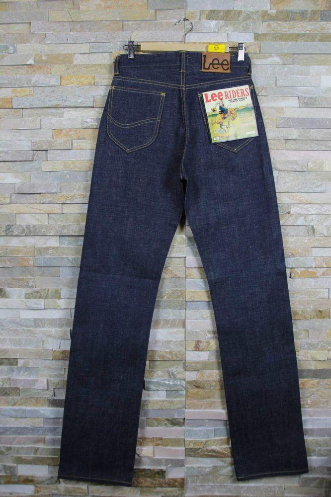 New LEE 101B 1944 COWBOY PANTS Dry/Raw Denim Selvedge Jeans LVC  W28 W36 W38