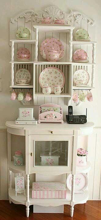 A Nice Little Kitchen Hutch The Best Of Shabby Chic In 2017