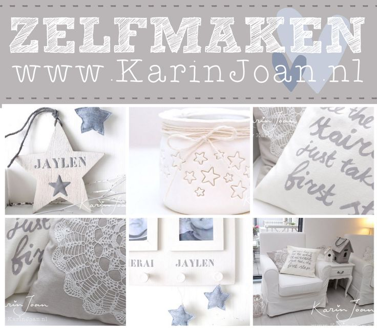 DIY crafts!! Clay, paper, stencils, paint, pastel colors, typography, cards, Silhouette Cameo, girly, Homemaker Karin Joan: ZELFMAKEN is geweldig!! (CRAFTING is awesome!!)